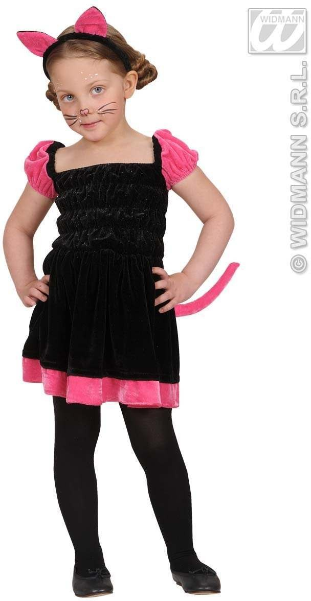 Beauty Kitty Dress, Ears 98, 104Cm Fancy Dress Costume