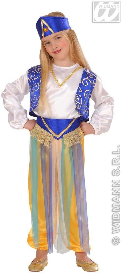 Arab Princess Child Costume 2-3 Fancy Dress Costume (Royalty)