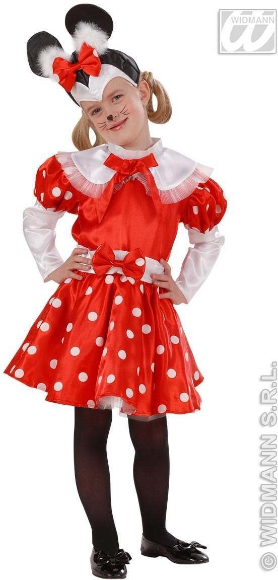 Mouse Girl Child Costume 2-3 Fancy Dress Costume Girls (Animals)