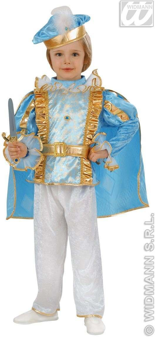 Charming Prince - Coat, Pants, Belt, Hat Fancy Dress (Royalty)