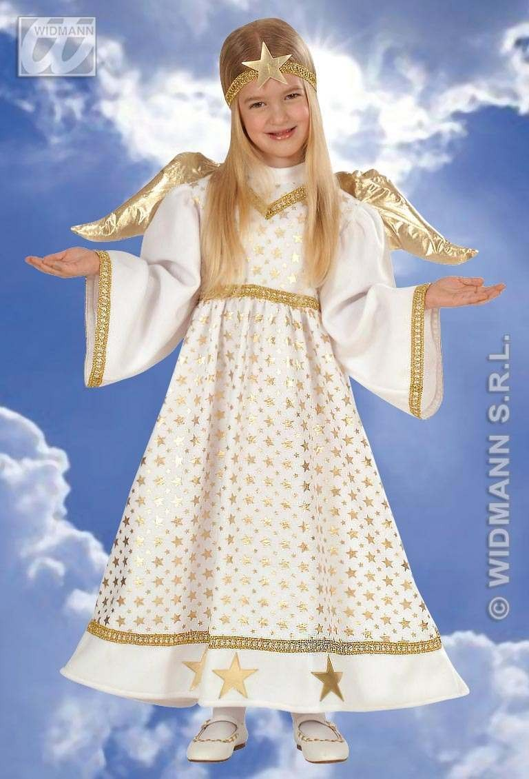 Angel Child Costume 1-2 Fancy Dress Costume Girls (Christmas)