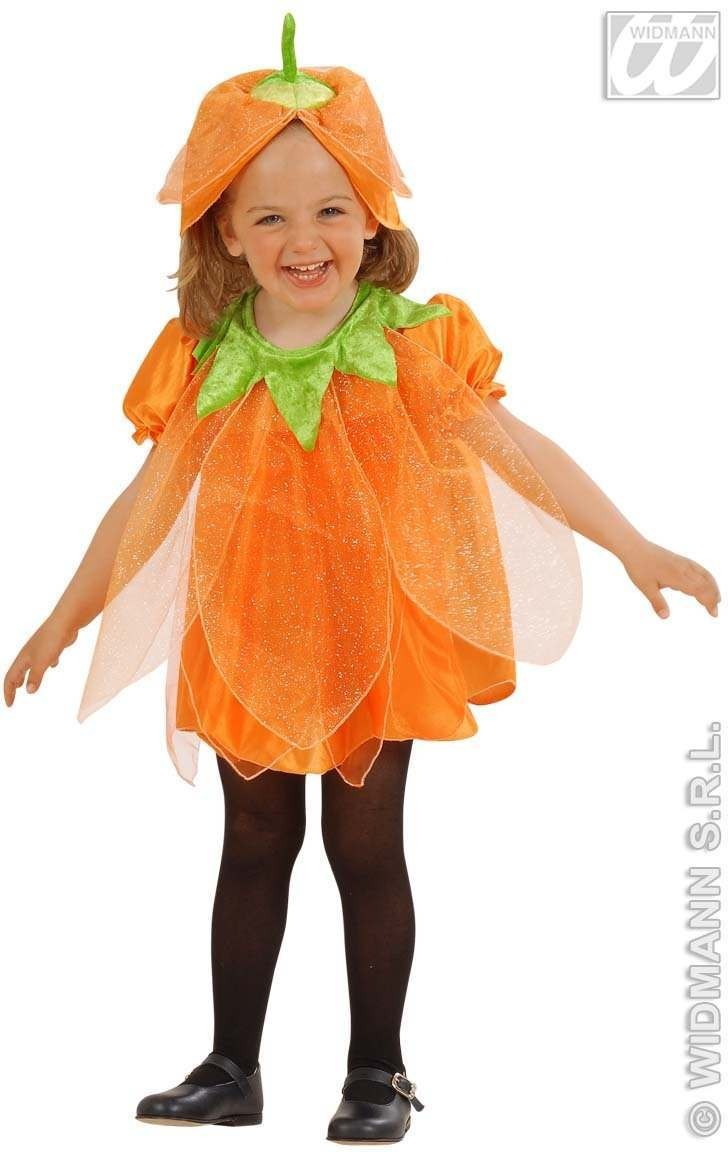 Lil Pumpkin Child Costume 2-3 Fancy Dress Costume Girls (Halloween)
