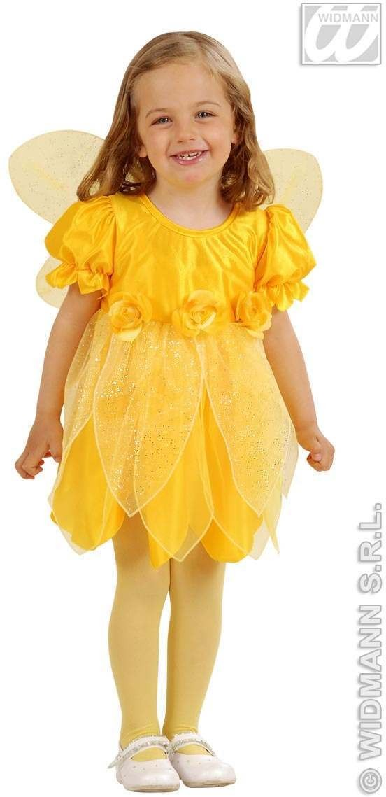 Lil Yellow Fairy Child Costume 1-2 Fancy Dress Costume (Fairy Tales)