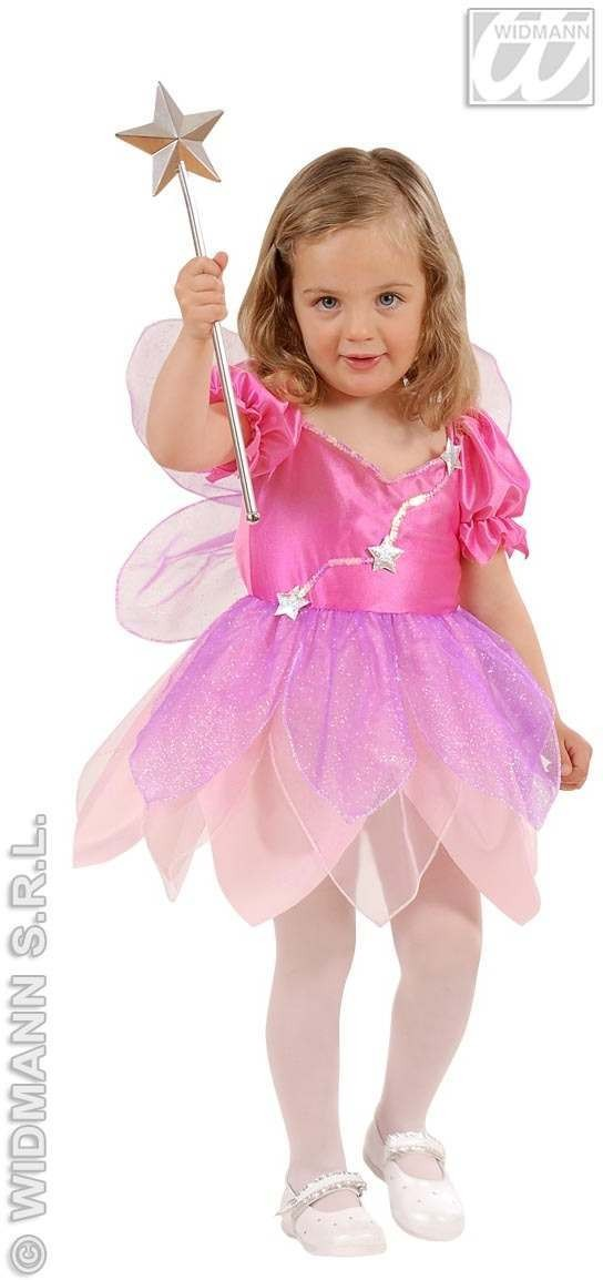 Lil Pink Fairy Child Costume 1-2 Fancy Dress Costume (Fairy Tales)