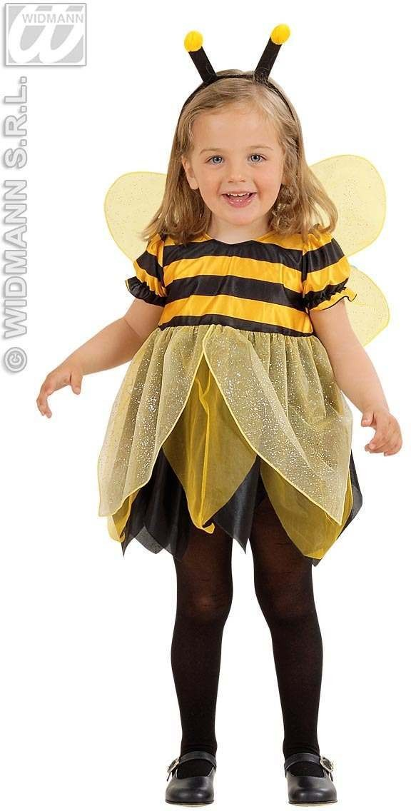 Lil Bee Child Costume 2-3 Fancy Dress Costume Girls (Animals)