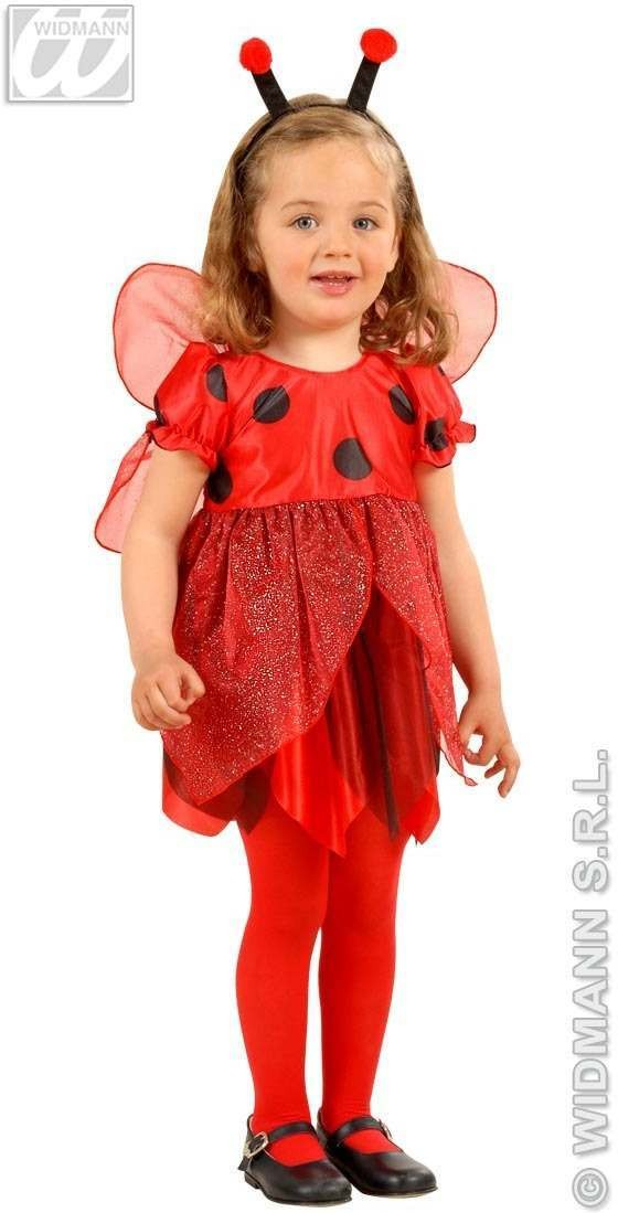 Lil Ladybug Child Costume 2-3 Fancy Dress Costume Girls (Animals)