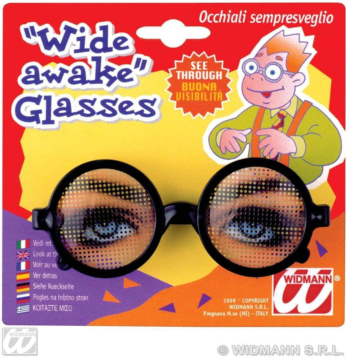 Wide Awake Glasses - Fancy Dress