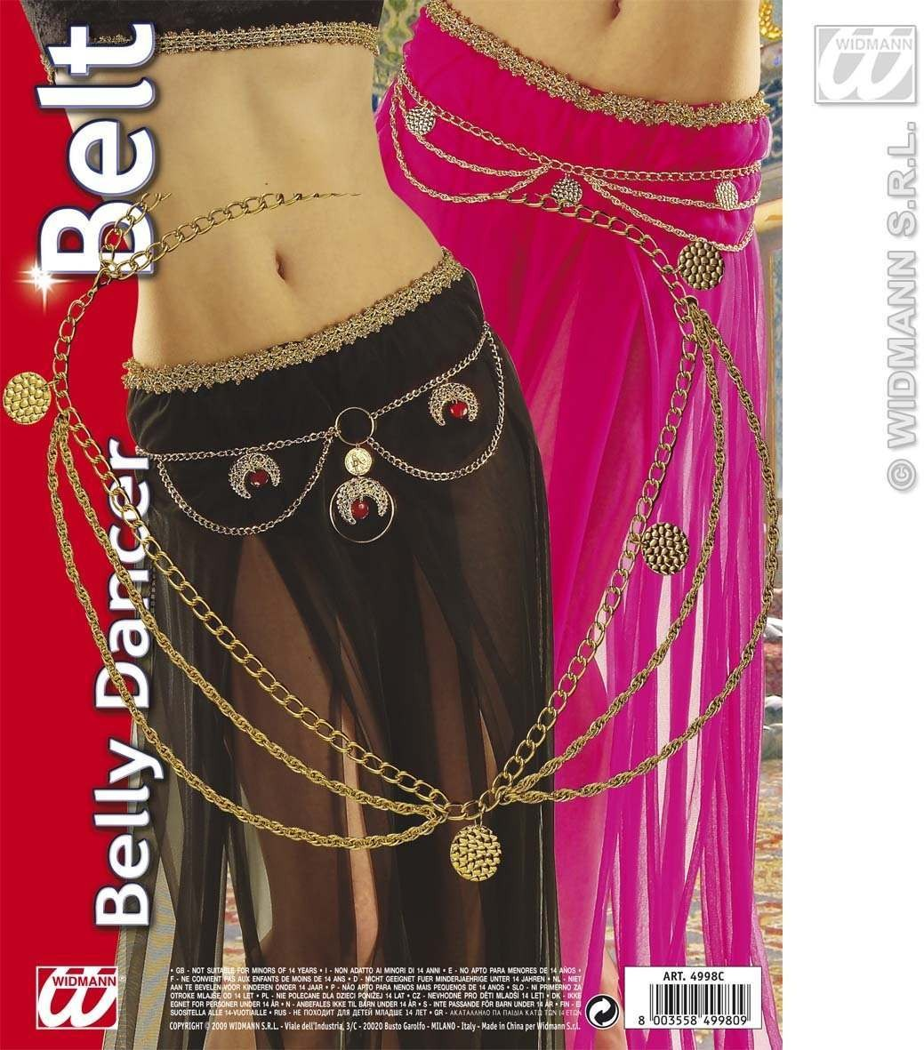 Belly Dancer Belt 2 Styles - Fancy Dress