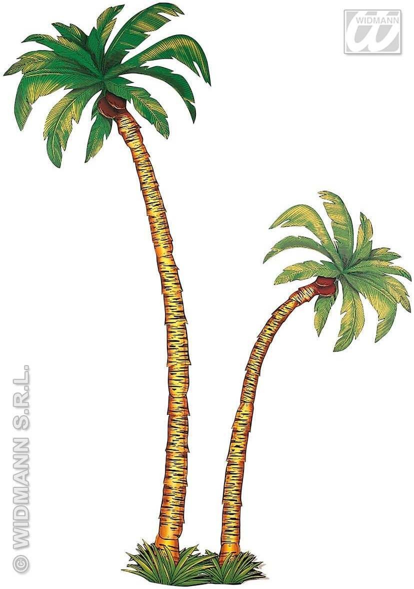 Giant Palm Trees Cutout Decoration - Fancy Dress