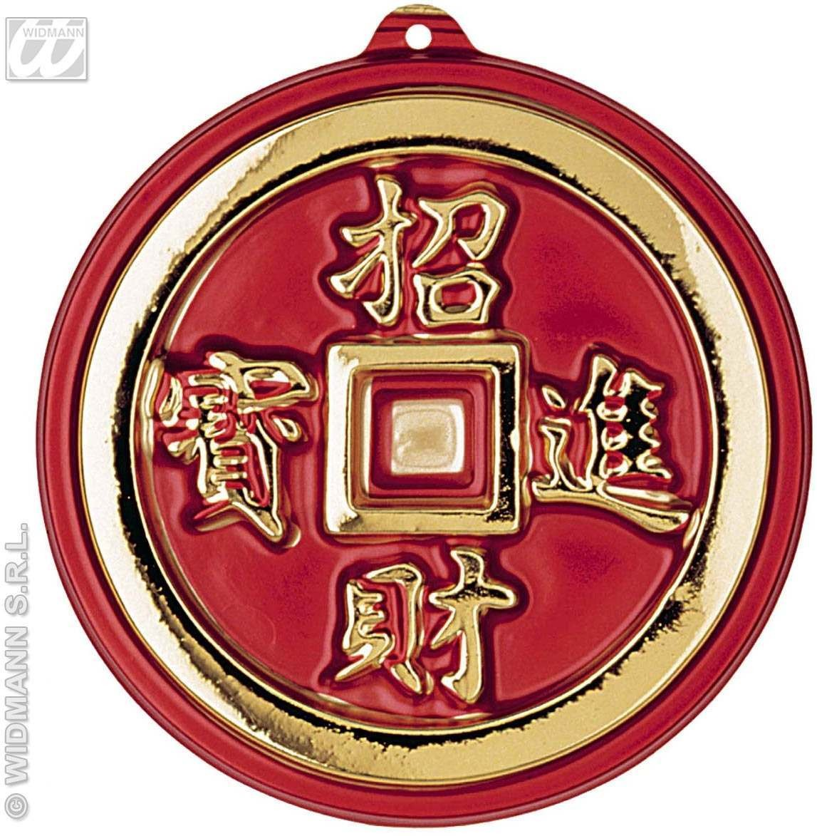 3D Oriental Coins Decoration - 25Cm - Fancy Dress