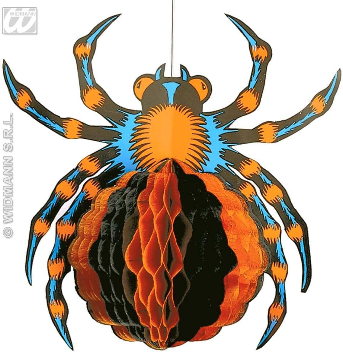 Jumbo Neon H/Comb Spider 52Cm - Fancy Dress (Halloween)