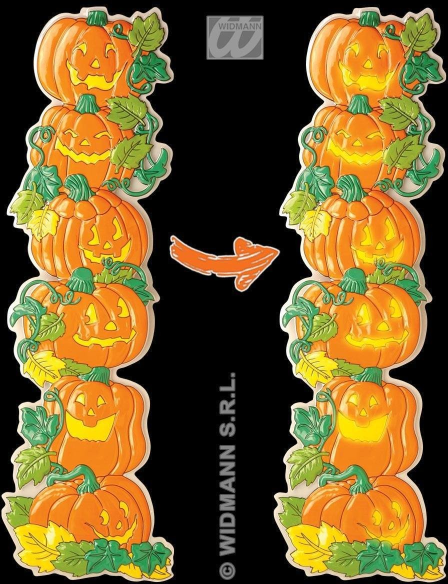 3D Vertical Pumpkin Decoration - Fancy Dress (Halloween)