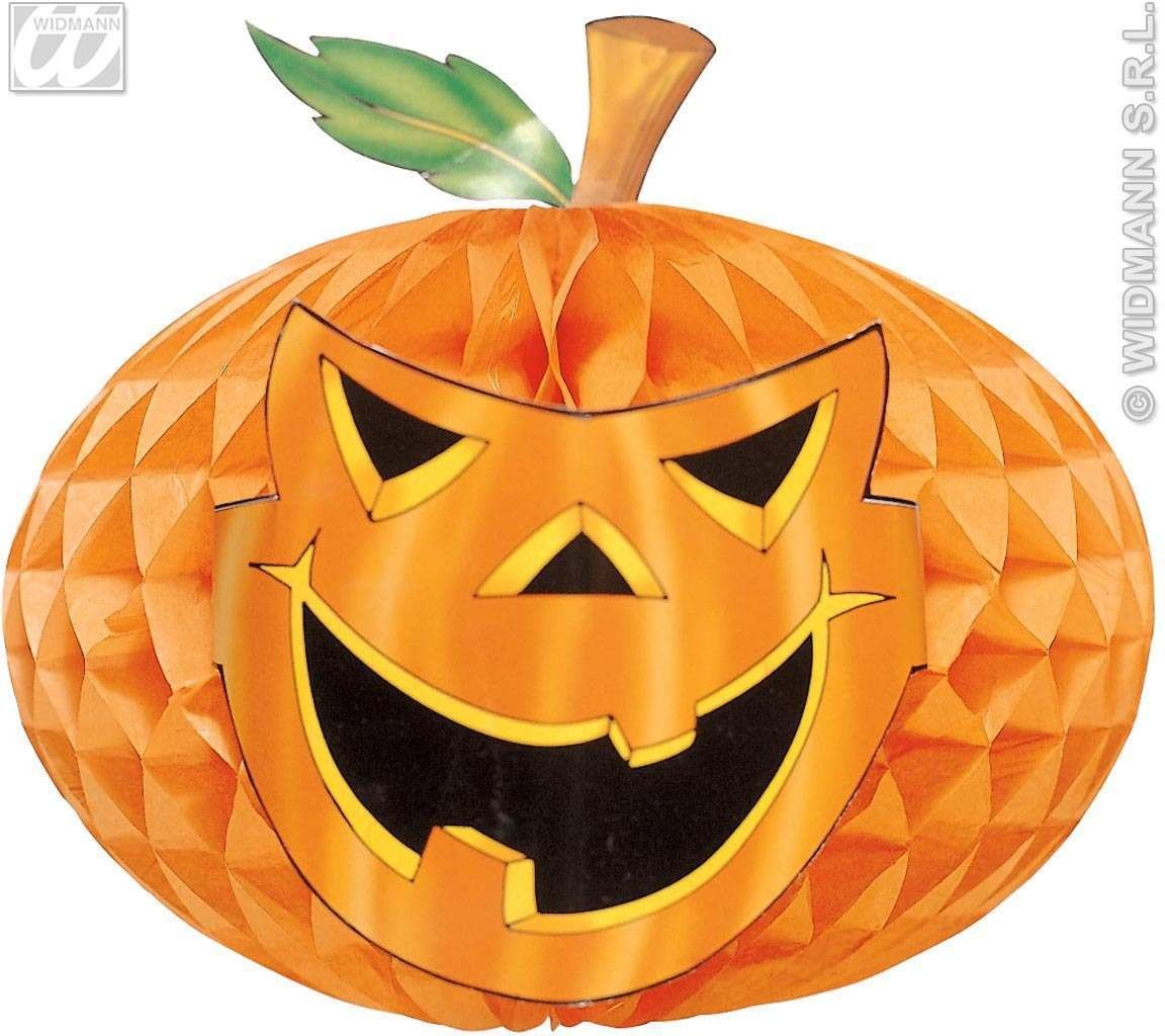 H/Comb Pumpkin 30Cm - Fancy Dress (Halloween)