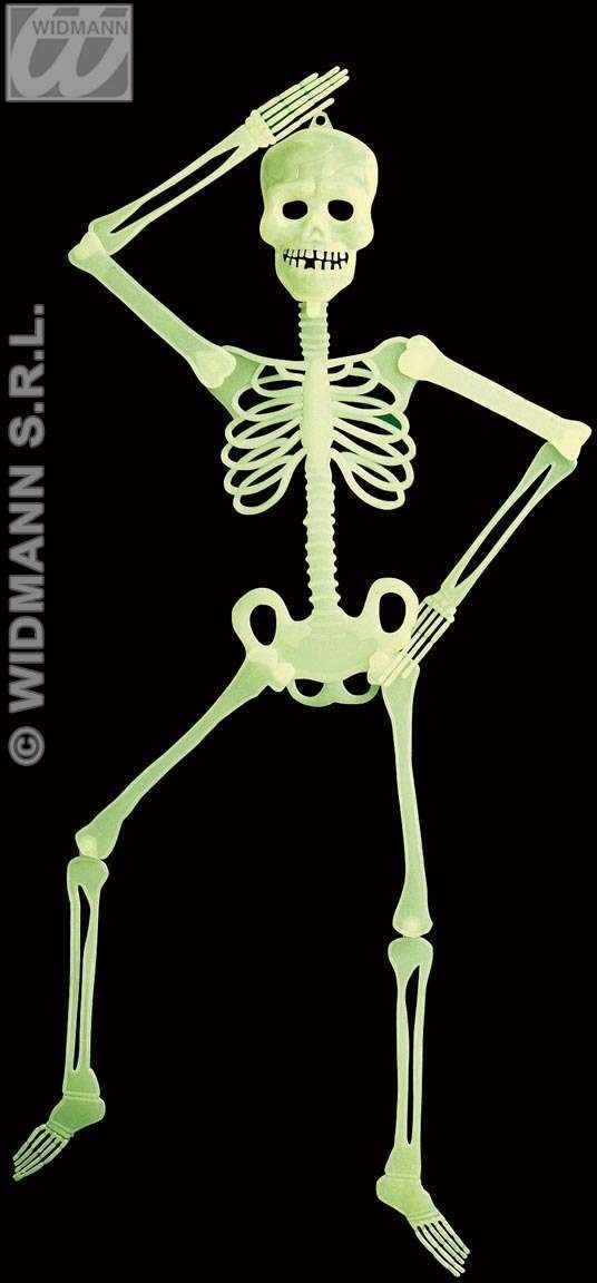 3D Gid Jointed Skeleton 90Cm - Fancy Dress (Halloween)