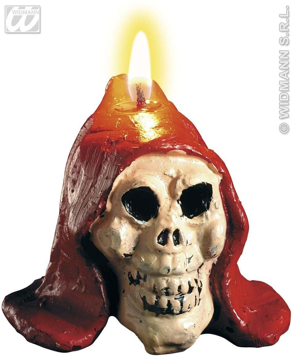Bleeding Skull Candle - Fancy Dress (Halloween)