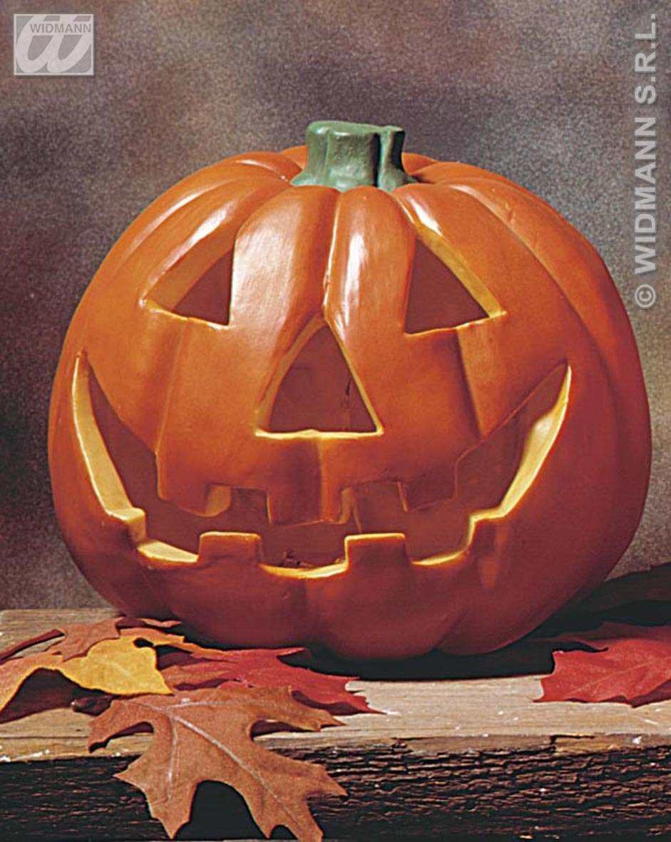 Flashing Light Pumpkin 20Cm - Fancy Dress (Halloween)
