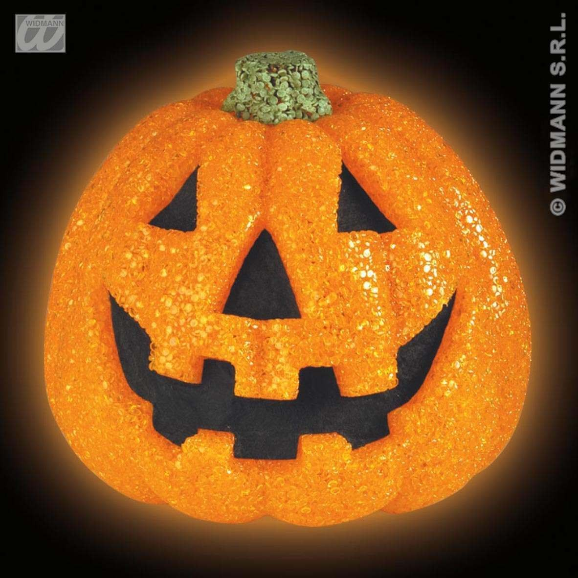 Sparkling Pumpkins W/Flash.Light-20Cm Fancy Dress (Halloween)