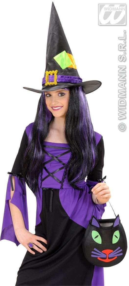 Satin & Velvet Witch Hats Child Size - Fancy Dress (Halloween)