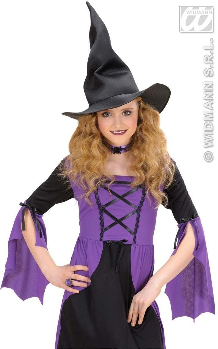 Weird Witch Hats Child Size - Fancy Dress Girls (Halloween)