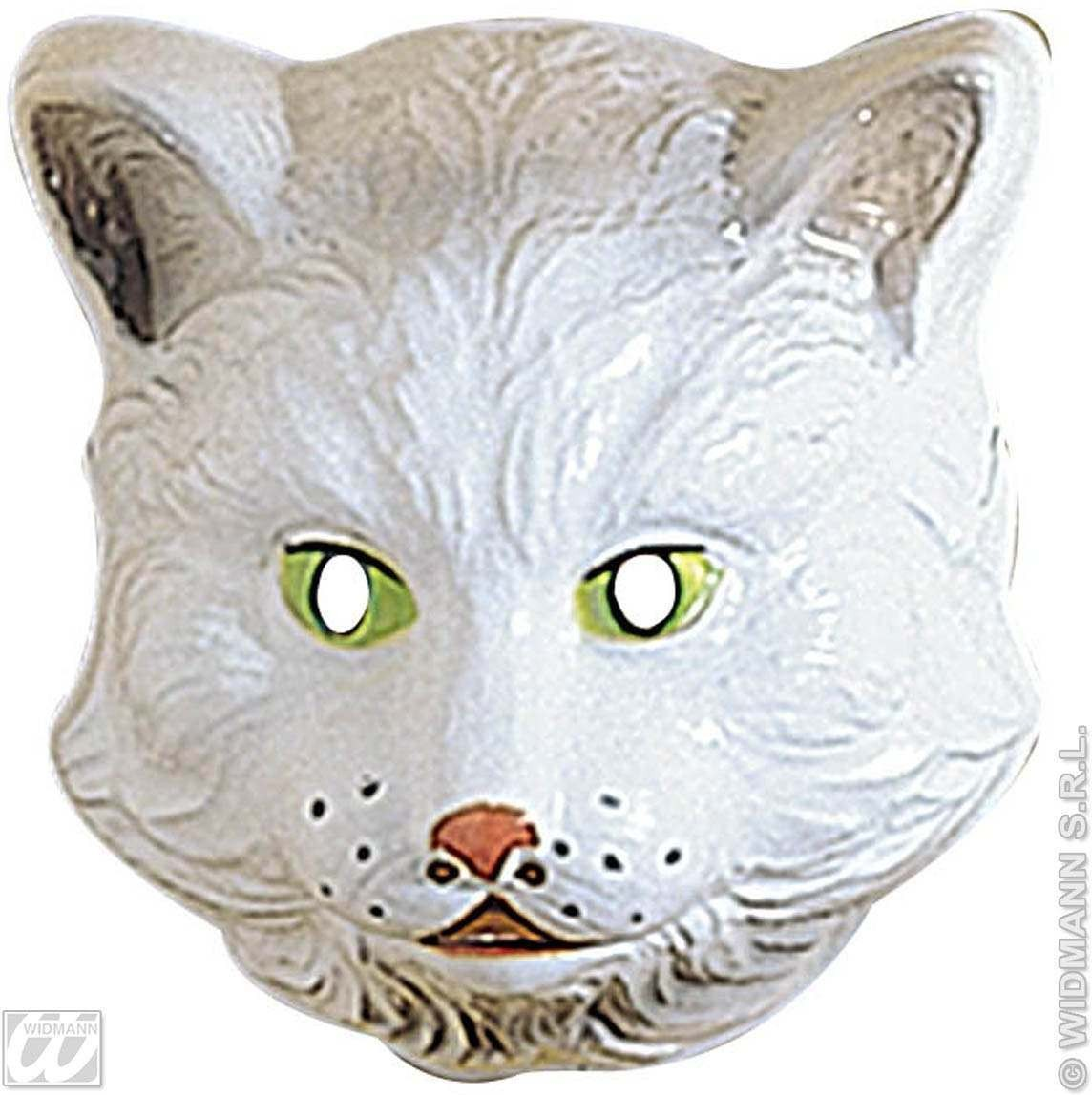 Cat Mask Plastic Child - Fancy Dress