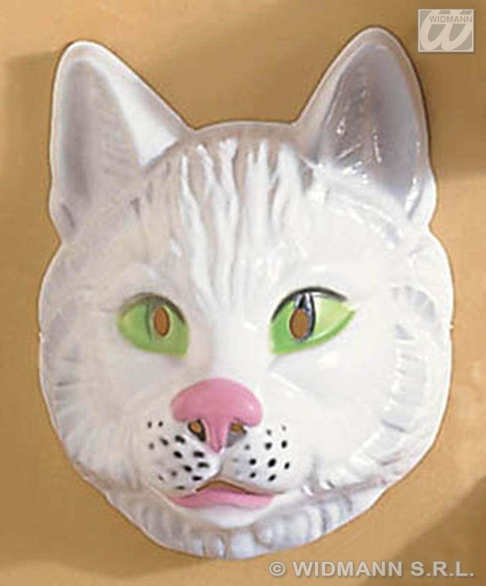 Plastic Cat Masks Fancy Dress
