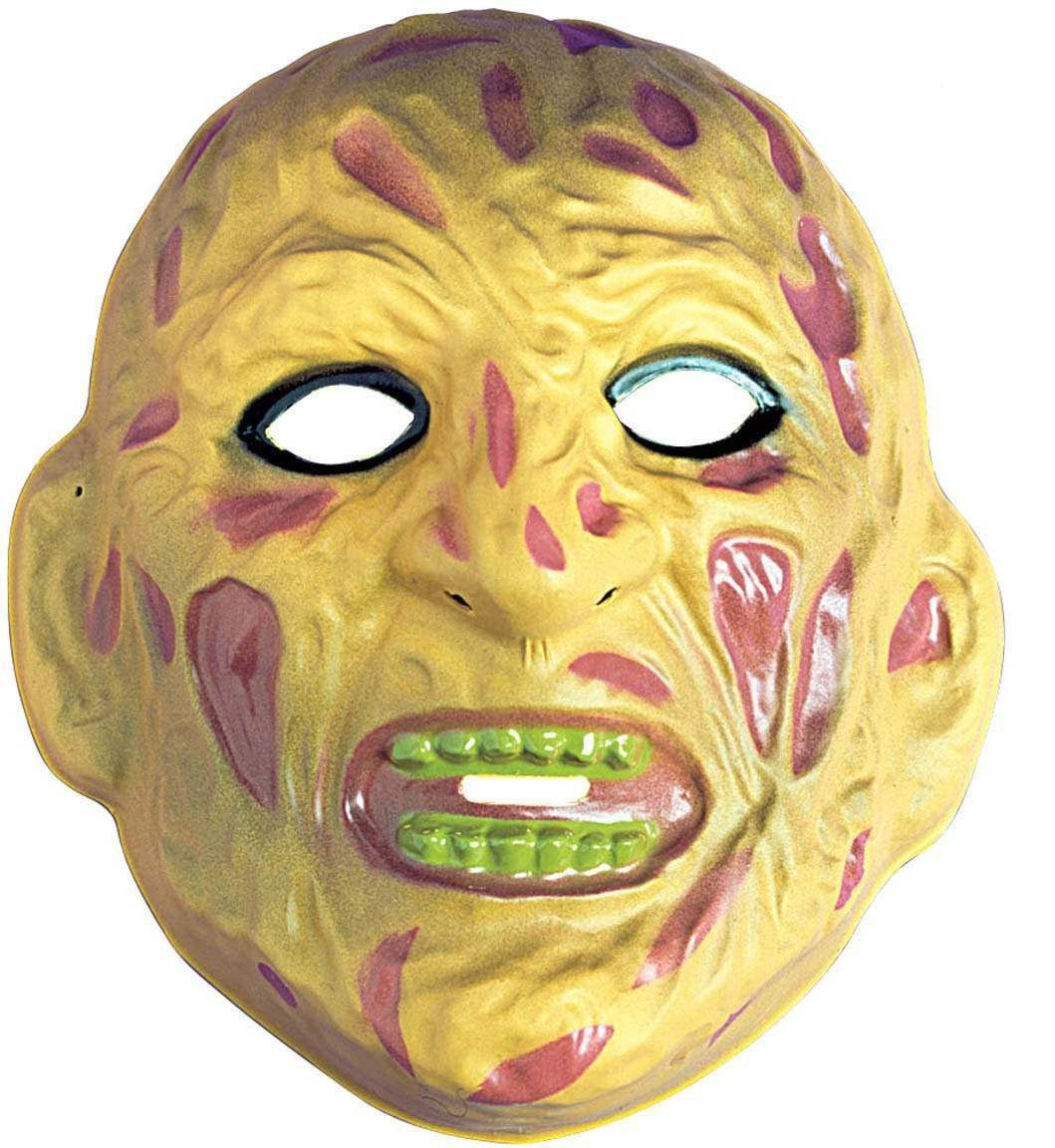 Burn Scar Mask Plastic - Fancy Dress