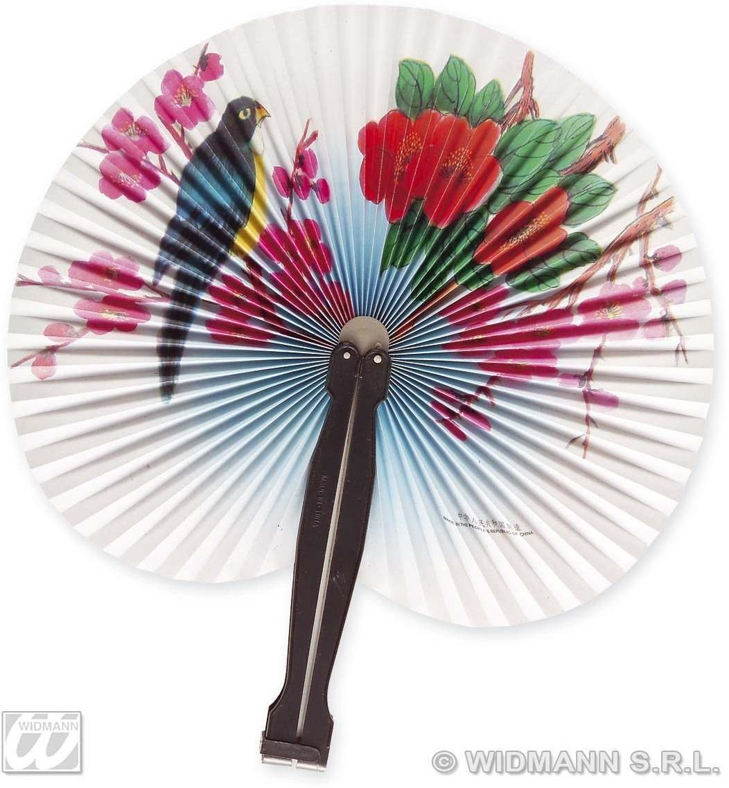 Paper Fan 25Cm 6 Styles - Fancy Dress