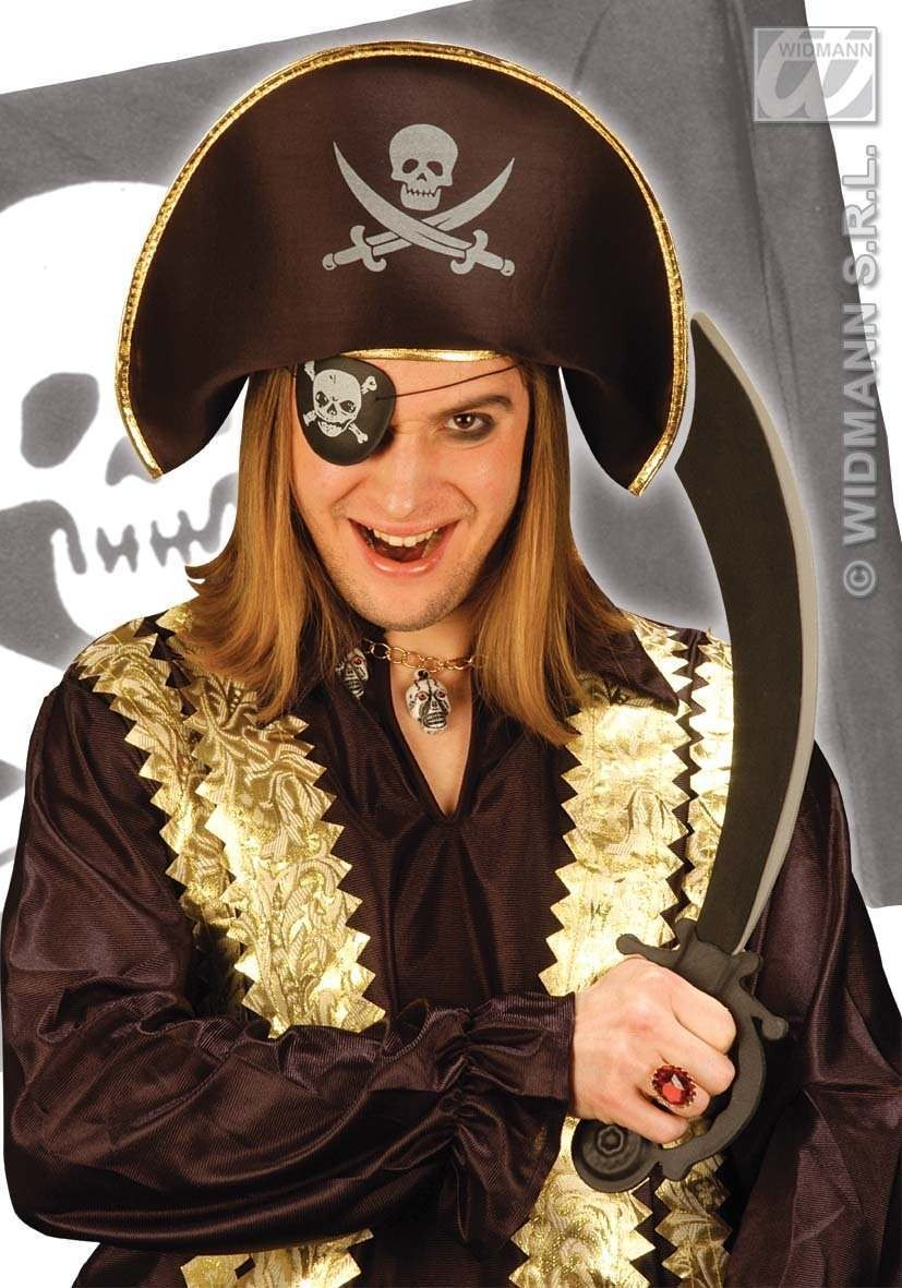 Pirate Dress Up Set With Hat And Sword - Fancy Dress (Pirates)
