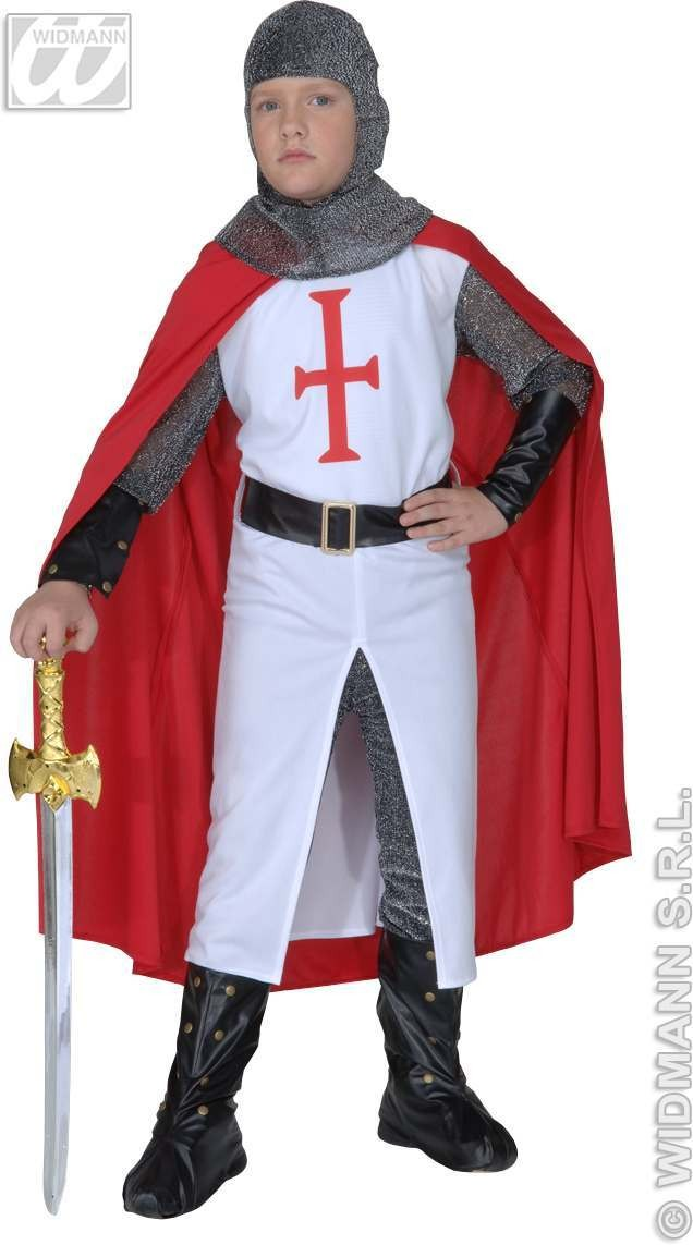 Crusader Costume Child Fancy Dress Costume Boys (Medieval)