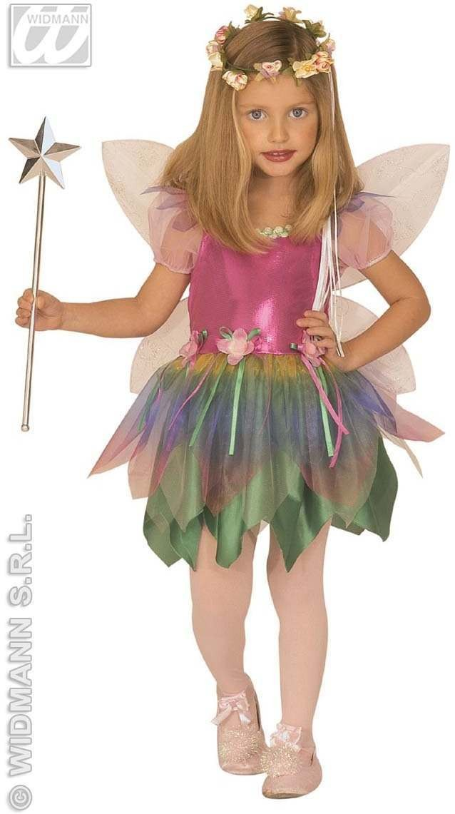 Rainbow Fairy Child Costume Fancy Dress Costume (Fairy Tales)