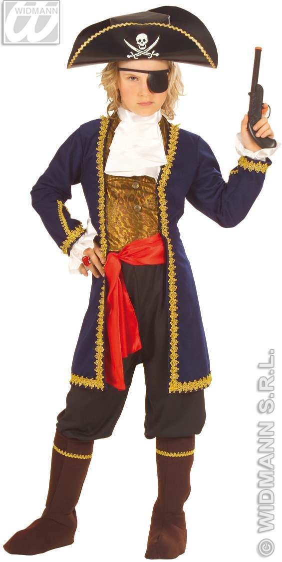 Pirate Of 7 Seas Costume Child Costume Boys (Pirates)