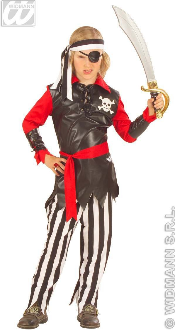 Pirate Boy F/Optic Teen Costume Costume Boys (Pirates)