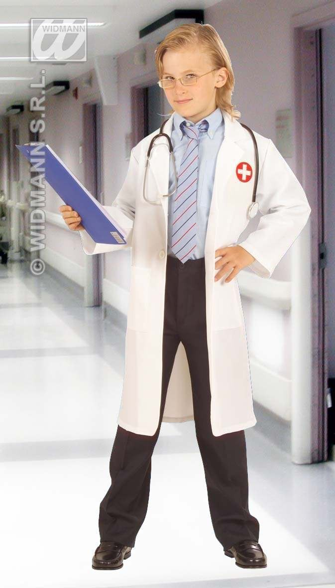 Doctor Costume Child F/Optic H/Fabric Costume (Doctors/Nurses)