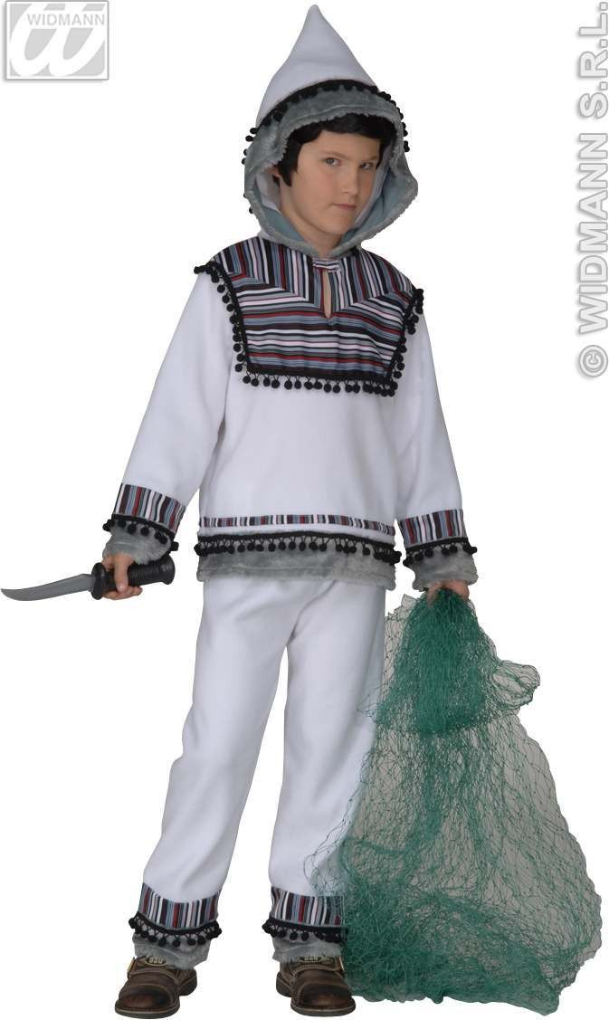 Eskimo Costume Child Fancy Dress Costume Boys (Cultures)