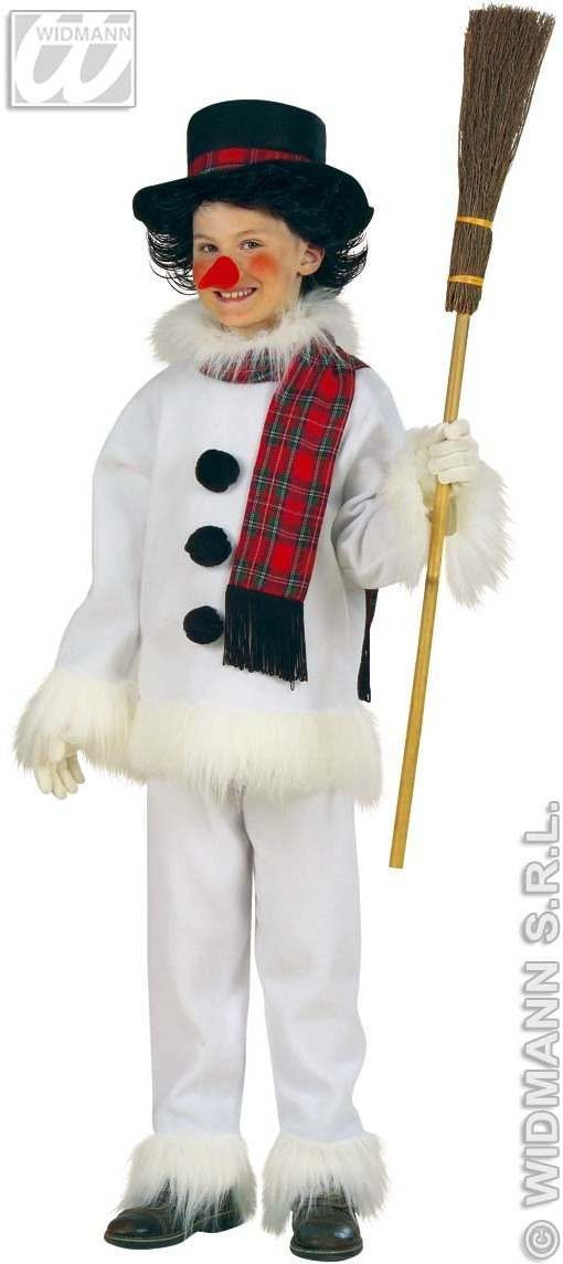 Snowman Costume Child 5-7 Fancy Dress Costume Boys (Christmas)
