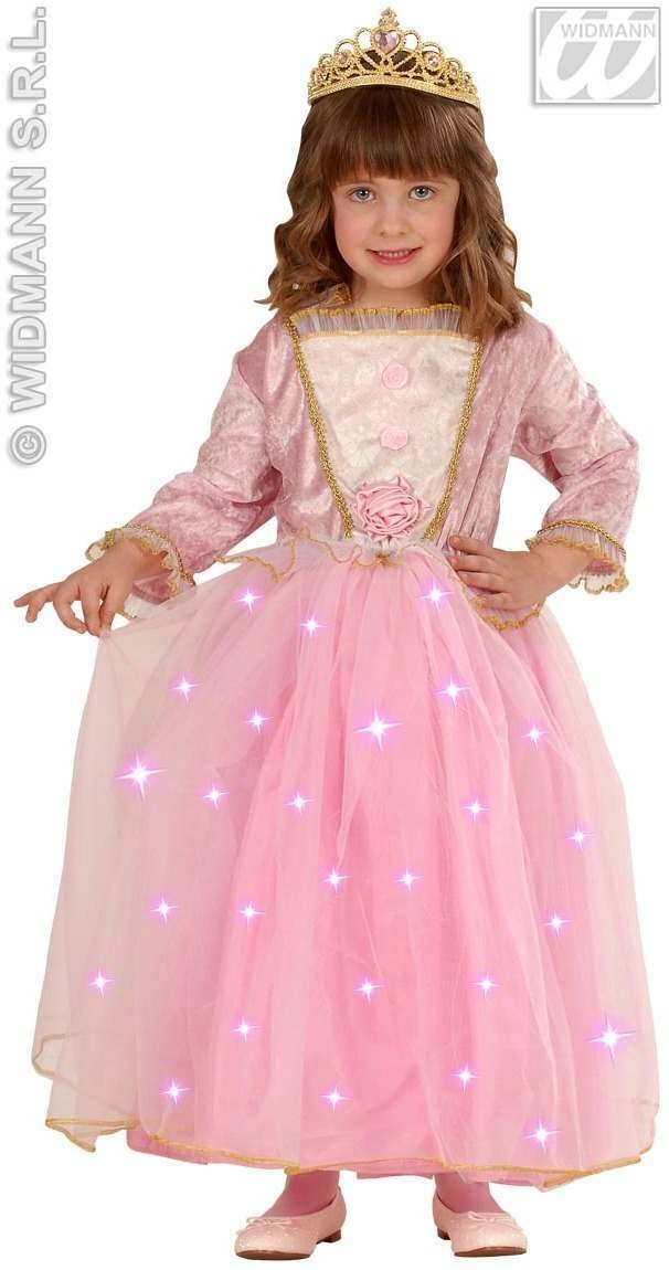 Fiberoptic Princess Dress - Tiara Fancy Dress Costume (Royalty)