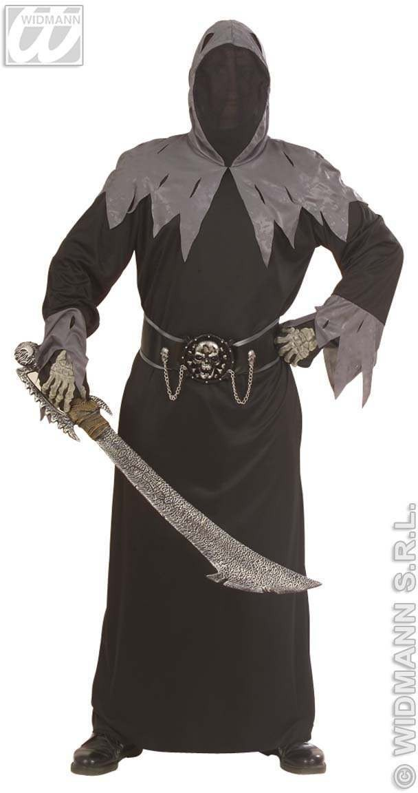Skull Warlord Adult Fancy Dress Costume Mens (Halloween)