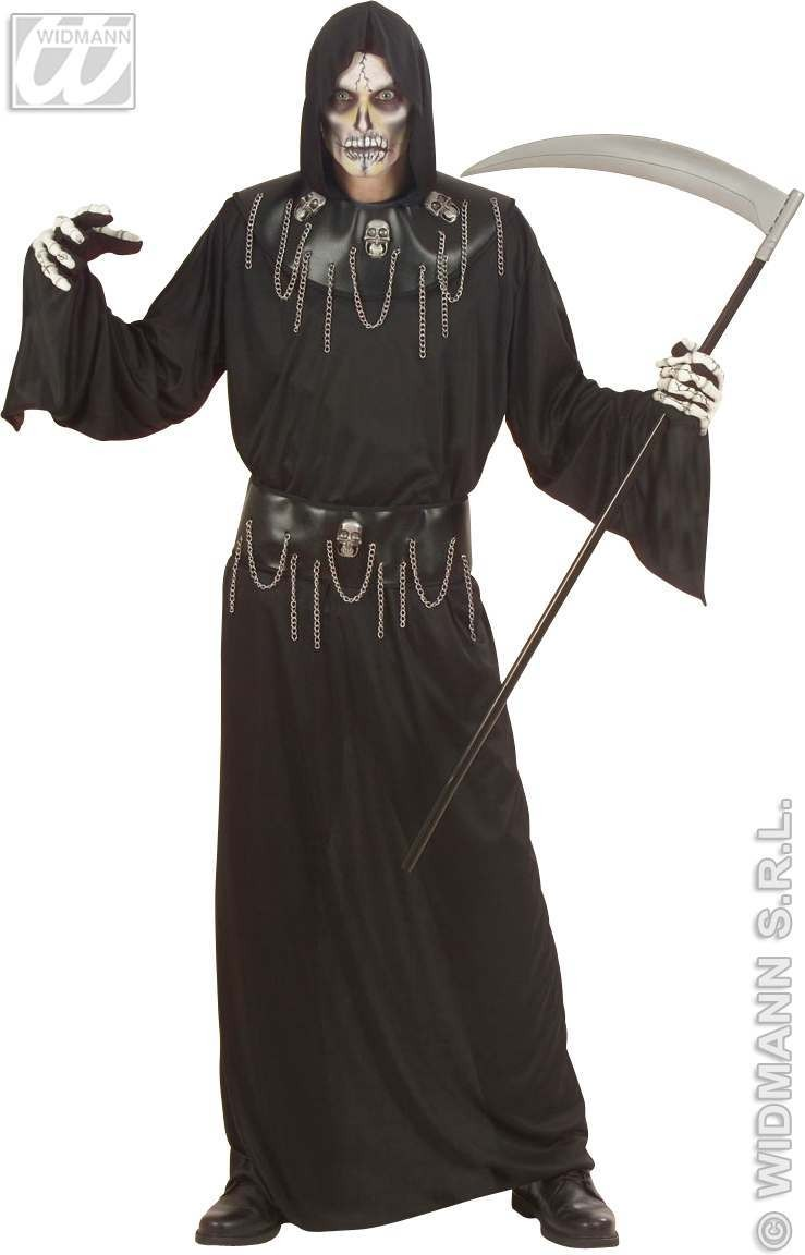 Skull Master Adult Fancy Dress Costume Mens (Halloween)