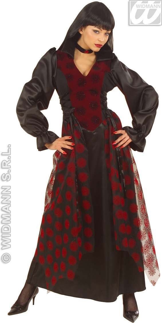 Victorian Vampiress Adult Fancy Dress Costume Ladies (Halloween)