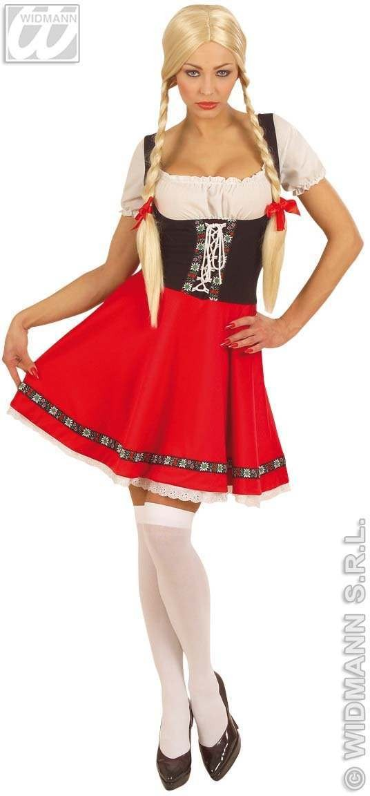 Heidi Adult Fancy Dress Costume Ladies