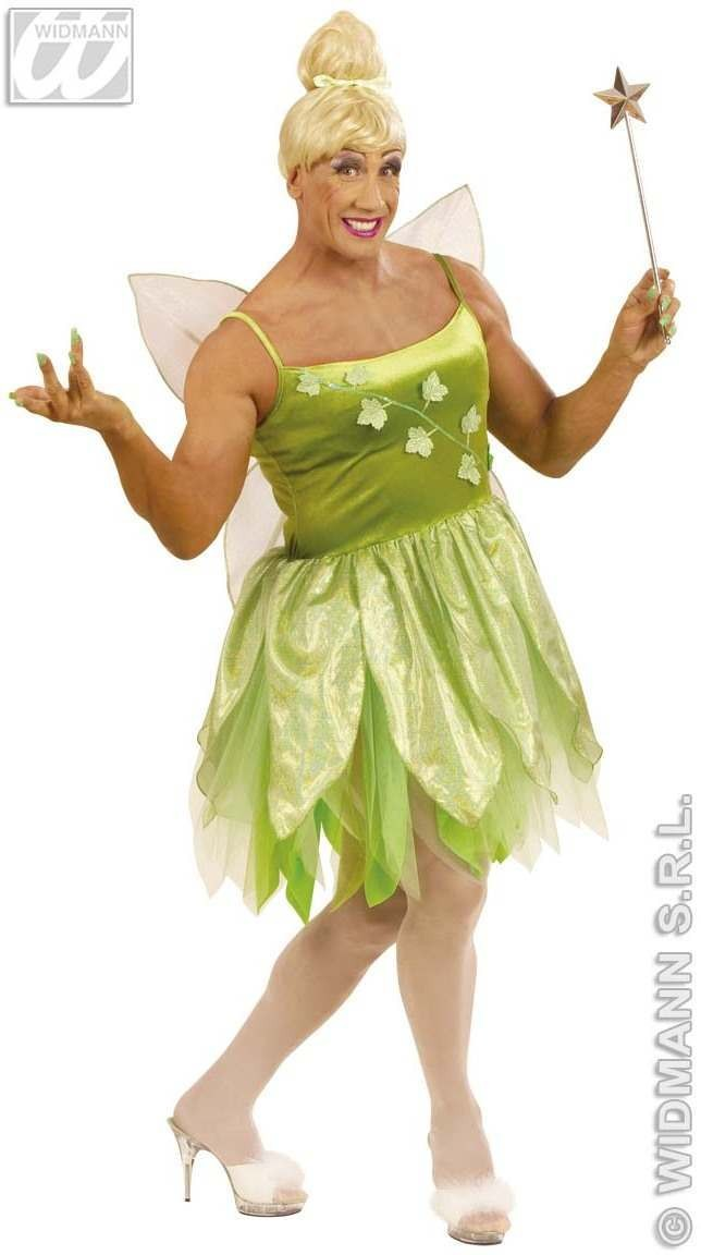 Xl Forest Fairy Mens Costume Mens Size 46-48 (Drag)