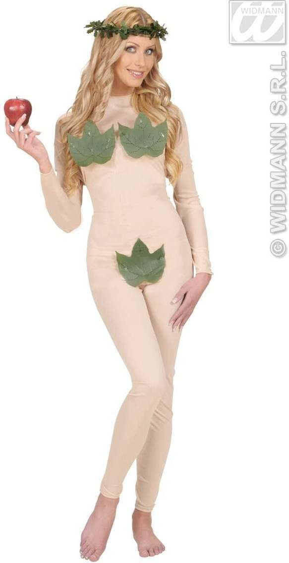 Eve Jumpsuit & Headpiece Fancy Dress Costume Ladies