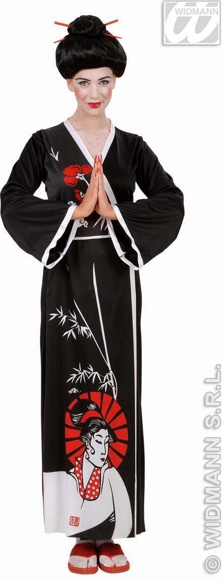 Geisha Adult Fancy Dress Costume Ladies (Oriental)