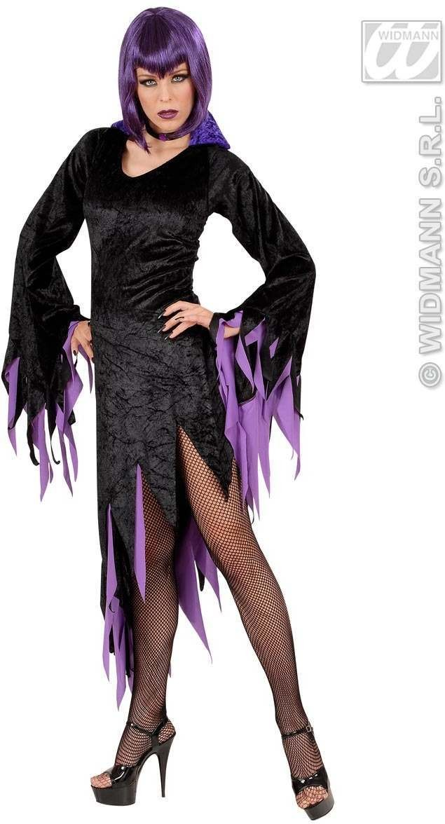 Xxl Dark Mistress 2 Cols Fancy Dress Costume (Halloween)