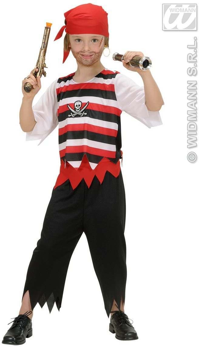 Pirate Boy Child Fancy Dress Costume Boys (Pirates)