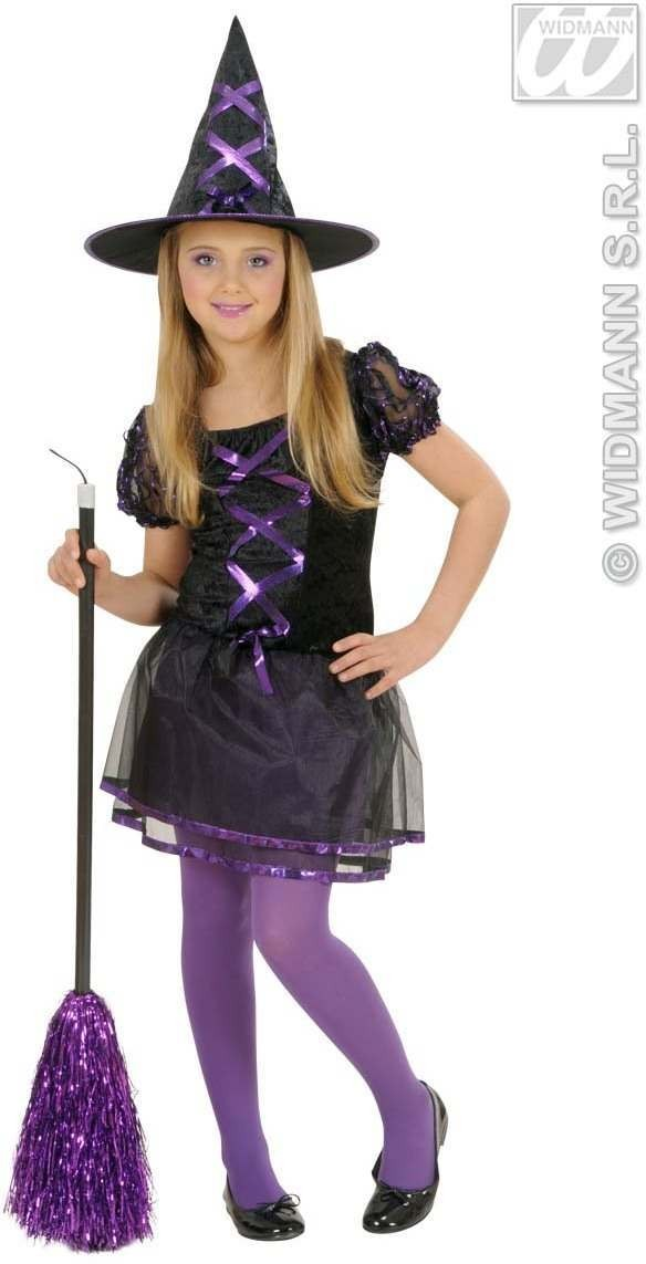 Ribbon Witch Child Fancy Dress Costume Girls (Halloween)