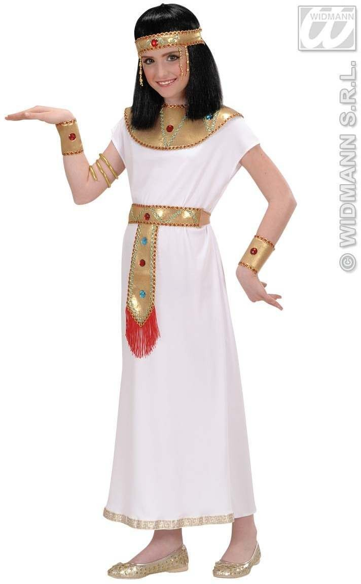 Cleopatra Child Fancy Dress Costume Girls (Egyptian)