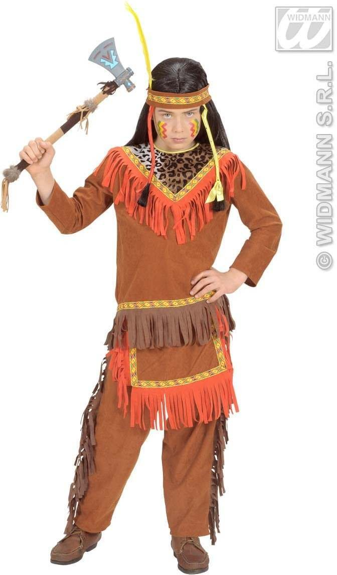 Native American Boy Child 128Cm Fancy Dress Costume Boys (Cowboys/Native Americans)