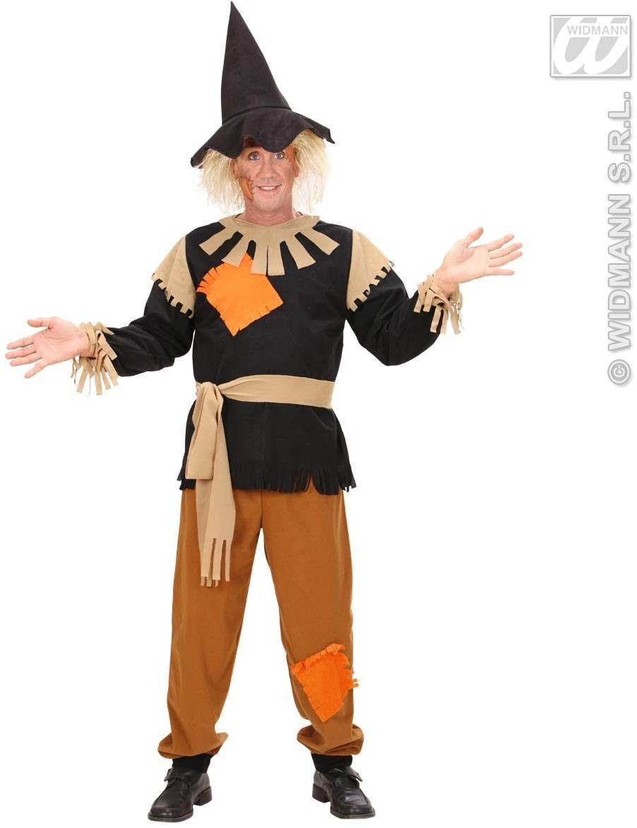Scarecrow Fancy Dress Costume Mens (Halloween)
