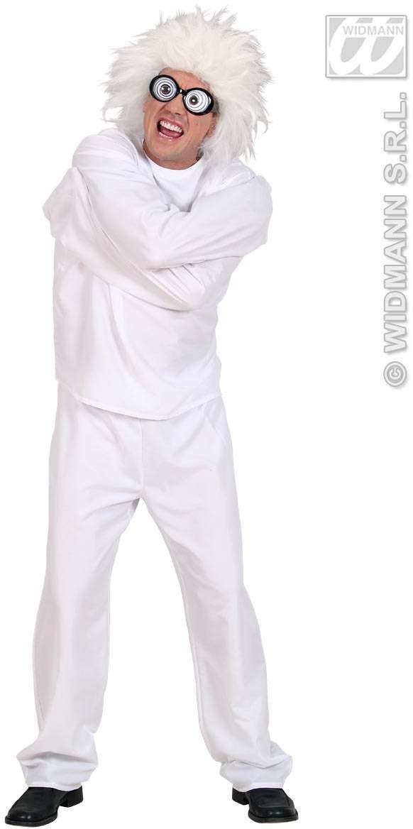 Lunatic Fancy Dress Costume Mens (Halloween)